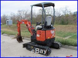 2006 IHI 15NX2 Mini Excavator 12 Bucket Dozer Blade Retractable Tracks bidadoo