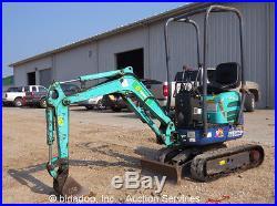 2006 IHI 9NX2 Mini Excavator Track Backhoe Dozer Blade Diesel Aux Hyd bidadoo