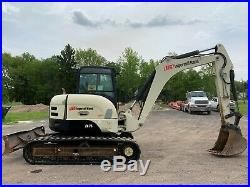 2006 Ingersoll Rand ZX75 Hydraulic Excavator Aux. Hydraulics