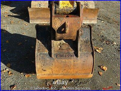 2006 John Deere 135C RTS Hydraulic Excavator 106 Blade AC AUX Hydraulic QC
