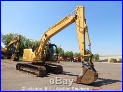 2006 John Deere 135C RTS Hydraulic Excavator Cab Q/C Isuzu Diesel bidadoo