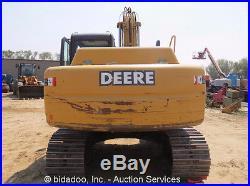 2006 John Deere 160C LC Hydraulic Excavator Cab Heat A/C 24 Tracks bidadoo