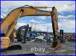 2006 John Deere 200CLC Hydraulic Excavator with Cab CHEAP