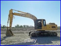 2006 John Deere 200C LC Crawler Excavator Auxiliary Hydraulics 9005 HRS