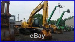 2006 John Deere 225C LC RTS Excavator, Clean, Original Paint