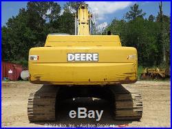 2006 John Deere 330C LC Excavator Hydraulic Cab A/C 60 Bucket Crawler bidadoo