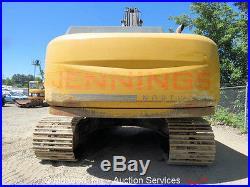 2006 John Deere 350D LC Hydraulic Enclosed A/C Cab 36 Bucket Hyd Q/C AUX Diesel