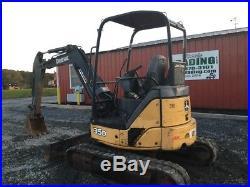 2006 John Deere 35D Hydraulic Mini Excavator
