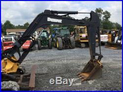 2006 John Deere 50D Hydraulic Mini Excavator