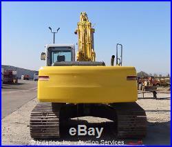 2006 Kobelco SK210LC Hydraulic Excavator A/C Cab Aux Hyd 48 Bucket Crawler