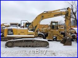 Excavators » pc200
