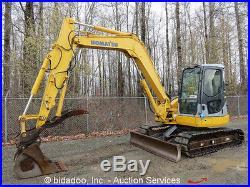2006 Komatsu PC78MR-6 Hydraulic Excavator Hydraulic Thumb Rubber Pads Blade AUX