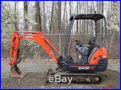 2006 Kubota KX41-3V Mini Excavator Hydraulic Thumb Extendable Rubber Tracks