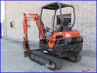 2006 Kubota KX91-3 Mini Hydraulic Excavator Aux Rubber Track Hoe Tractor Dozer