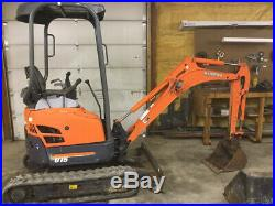 2006 Kubota U15 Hydraulic Mini Excavator with Only 1900 Hours