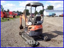 2006 Kubota U15 Mini excavator, OROPS, 2 Speed, Aux Hyd, 1,901 Hours