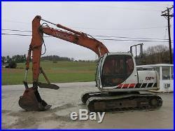 2006 LINK BELT 130LX HYDRAULIC EXCAVATOR, CAB AIR, 89 HP ISUZU, 3RD VALVE NR
