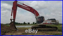 2006 Linkbelt 460 Lx Large Hydraulic Diesel Excavator Geith Coupler Heat/Ac