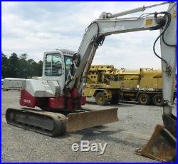 2006 Takeuchi TB180FR Hydraulic Midi Excavator with Cab NEW TRACKS Coming Soon