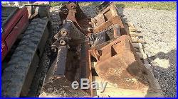 2006 Takeuchi Tb016 Excavator 2500 Hrs Hydraulic Thumb & 6 Buckets