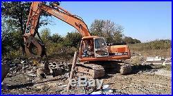 2006 doosan daewoo ex 225 excavator w demo grapple