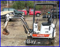 2007 Bobcat 316 Mini Excavator 1985 Hours NO RESERVE VIDEO OF MACHINE