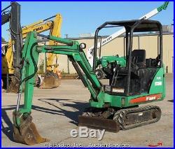 2007 Bobcat 323J Compact Mini Excavator AUX Hydraulics Kubota Diesel bidadoo