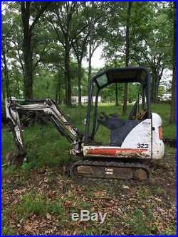2007 Bobcat 323J Mini Excavator! Coming in Soon