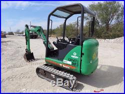 2007 Bobcat 323J Mini Hydraulic Excavator Extendable Tracks Dozer Blade Kubota