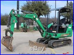 2007 Bobcat 325G Hydraulic Mini Excavator Dozer Backhoe Aux Hydraulics bidadoo