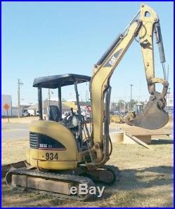 2007 CAT 303C CR Crawler Compact Hydraulic Excavator