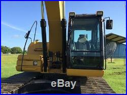 2007 CAT 320DL HYDRAULIC TRACK EXCAVATOR, ONE OWNER, READY TO WORK