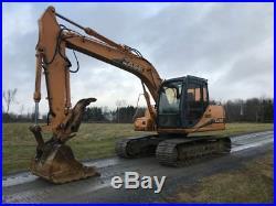 2007 Case CX130 Hydraulic Excavator With Hydraulic Thumb