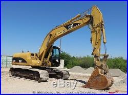 2007 Caterpillar 320C L Hydraulic Excavator 36 Bucket Cat Diesel Cab AC bidadoo