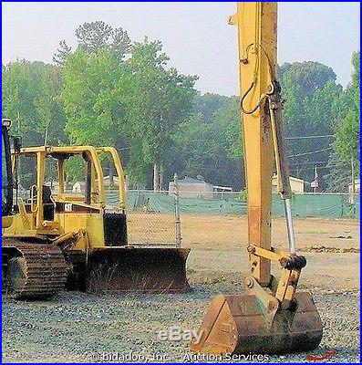 2007 Caterpillar 325DL Long Reach Hydraulic Excavator CAT C7 190HP Low Hours A/C