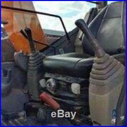 2007 Hitachi ZX75US A Mini Excavator 54HP Isuzu Diesel Engine 30 Bucket TEXAS