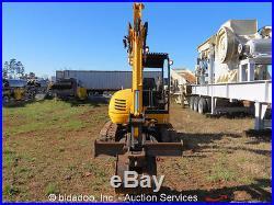2007 JCB 8045ZTS Mini Excavator Perkins Diesel Rubber Tracks Aux Hyd bidadoo