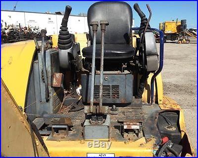 2007 JOHN DEERE 35C ZTS Mini Excavator, Isuzu Diesel Engine