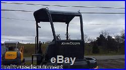 2007 John Deere 35D Mini Excavator Hydraulic Diesel Tracked Hoe Compact Blade