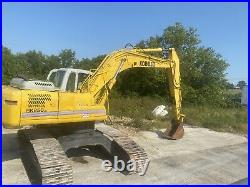 2007 Kobelco SK250 LC Excavator 4300 hours + 4 Buckets 68 Ditching CAT 48