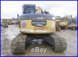 2007 Komatsu PC138USLC-2 Hydraulic Excavator with Cab Thumb 3rd Valve
