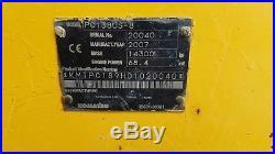 2007 Komatsu PC138US-8 Excavator Diesel Track Hoe Zero Tail Swing Aux Hydraulics