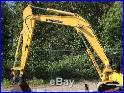 2007 Komatsu PC50MR-2 Hydraulic Midi Excavator Aux Hyd Backfill Blade Q/C Mini