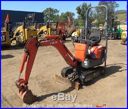 2007 Kubota KX008-3 Mico Excavator Mini Digger Extendable Tracks Backfill Blade