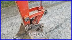 2007 Kubota KX121-3 Mini Excavator with Hydraulic Angle Blade Track Hoe Machine