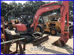 2007 Kubota KX161-3 Hydraulic Mini Excavator with Angle Blade