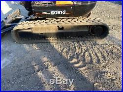 2007 Kubota KX161-3 Mini Excavator Open Cab Rubber Tracks Kubota Engine
