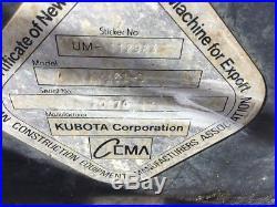 2007 Kubota KX161-3 Mini Excavator with Cab & Hydraulic Thumb