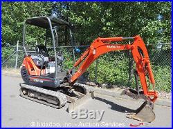 2007 Kubota KX41-3V Mini Excavator Hydraulic Thumb Extendable Tracks Blade Aux