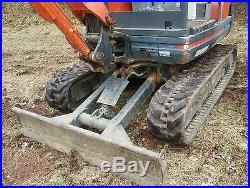 2007 Kubota KX71-3 mini excavator under 450hrs